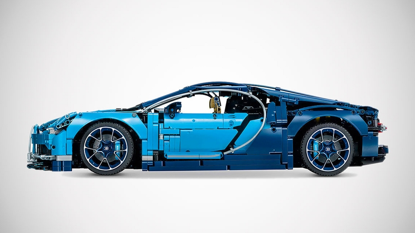 lego technic bugatti chiron auch als 1 1 modell. Black Bedroom Furniture Sets. Home Design Ideas